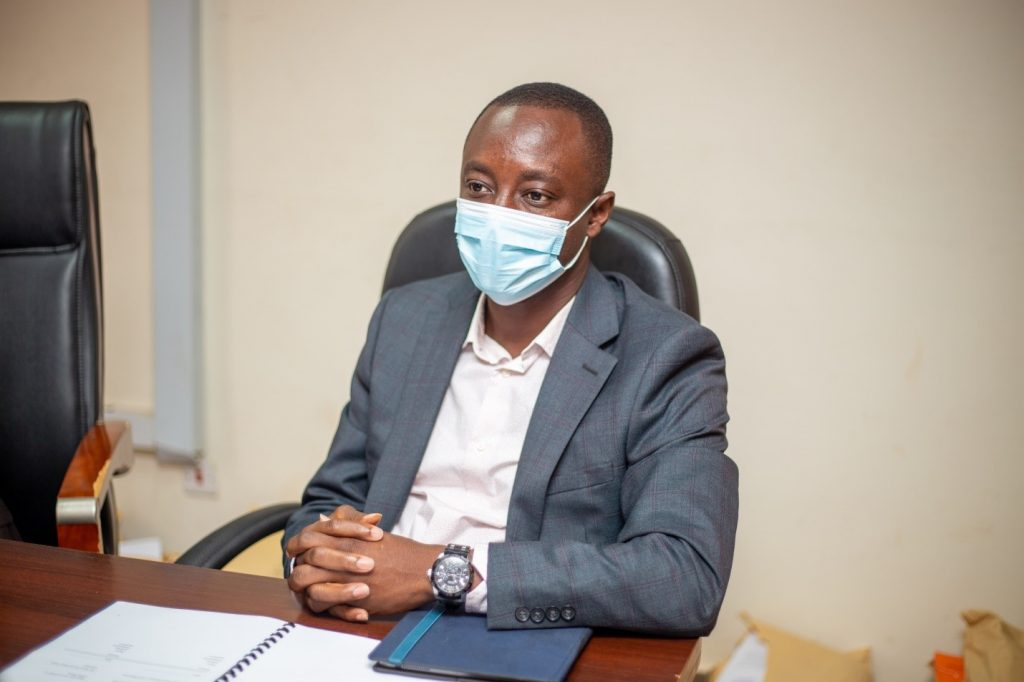 The president of AIMS, Dr. Prince Osei