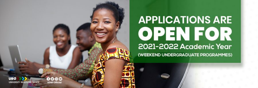 Admission of Candidates to Weekend Undergraduate Programmes